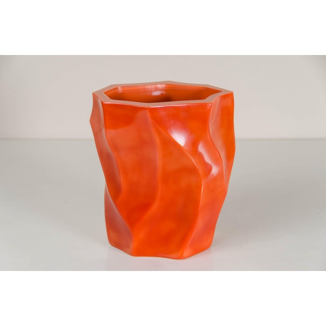 2010s Bamboo Shaven Vase by Robert Kuo For Sale - Image 5 of 9