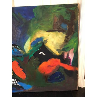 """Large Abstract Mid-Century Modern """"Metamorphosis"""" Painting Preview"""