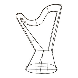 Harp Shape Wire Topiary Frame For Sale