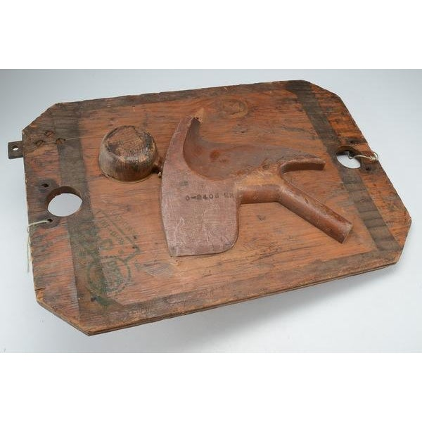 Vintage Industrial Wood Mold - Image 3 of 8