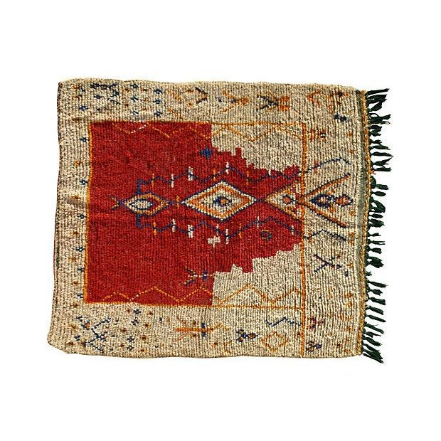 Moroccan Rug - 4'10'' X 4'1'' - Image 1 of 3