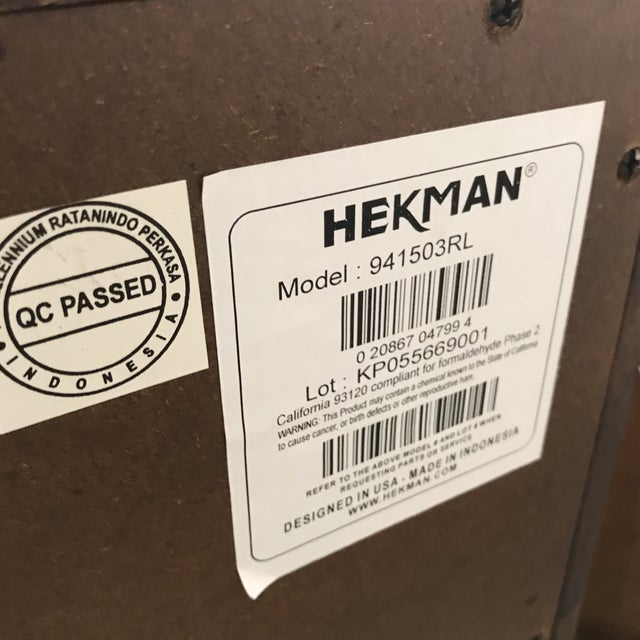 Hekman Nightstands - A Pair - Image 6 of 6