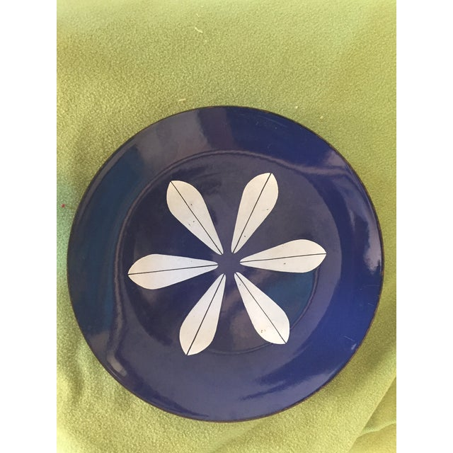 Catheineholm Blue Lotus Plates - Pair - Image 2 of 8