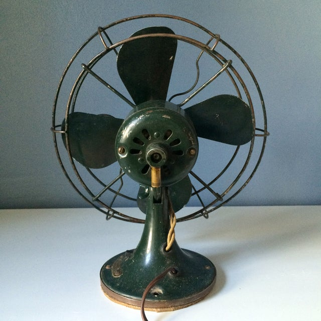 Vintage GE Industrial Table Fan - Image 5 of 10