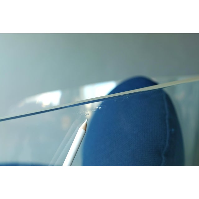 Space Age Lucite Barrel Lounge Chairs - a Pair For Sale - Image 10 of 13
