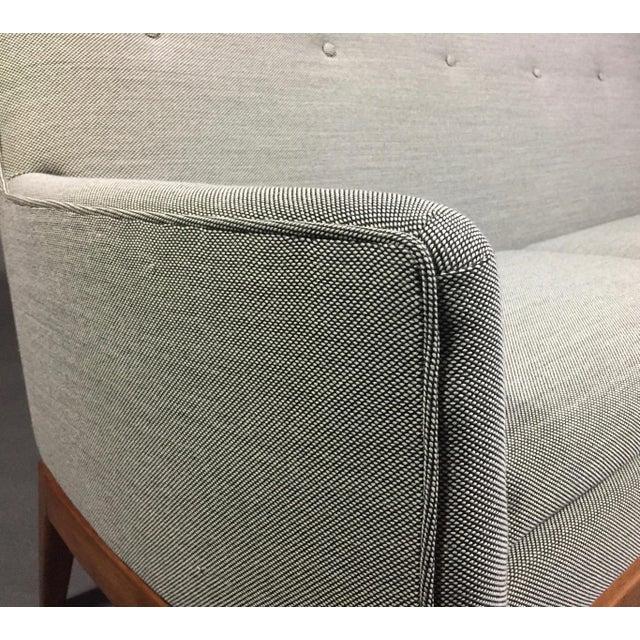 Jens Risom Design Jen Risom 1950s American Modern 3-Seat Sofa For Sale - Image 4 of 10