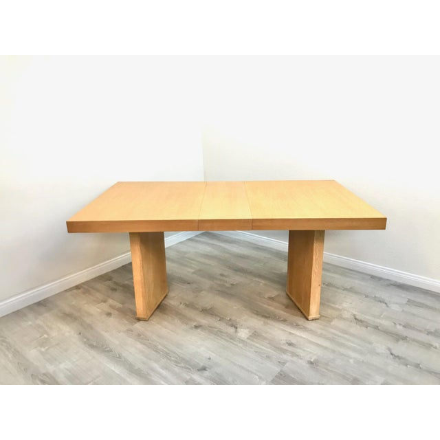 Paul Frankl Mid Century Modern Paul Frankl Style Dining Table For Sale - Image 4 of 12