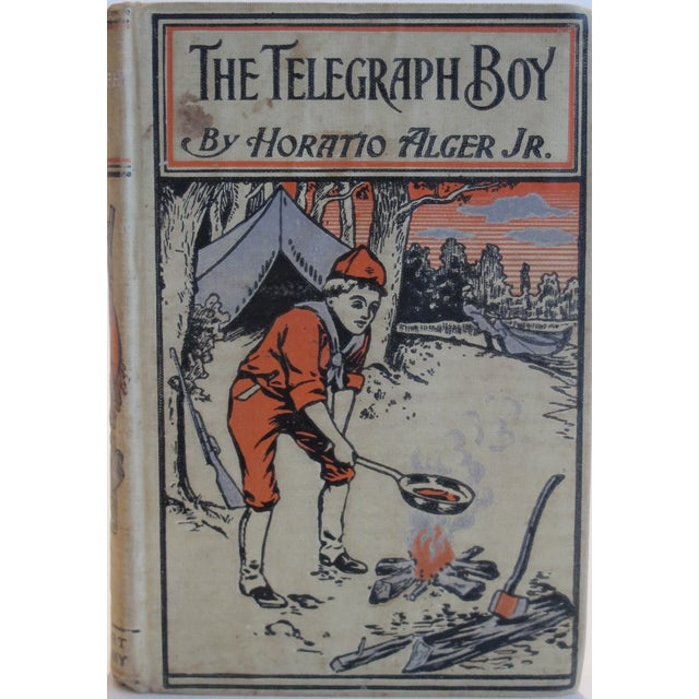 "Horatio Alger ""The Telegraph Boy"" 1909 Book - Image 3 of 3"