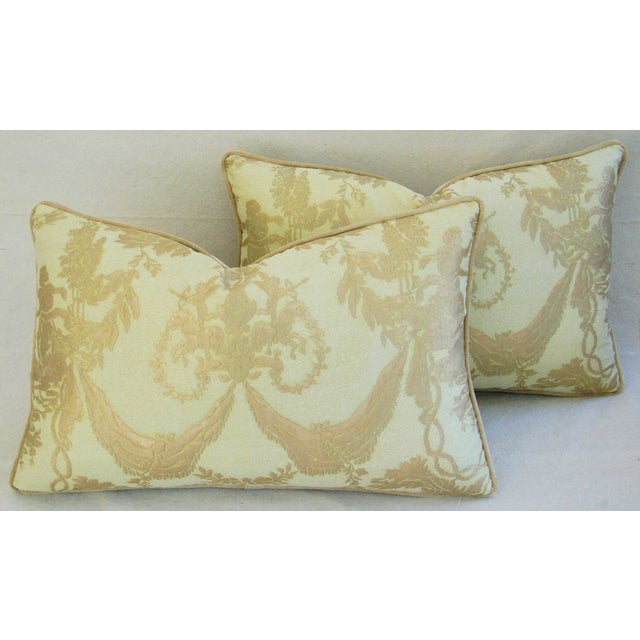 Italian Mariano Fortuny Boucher Pillows - A Pair - Image 6 of 11