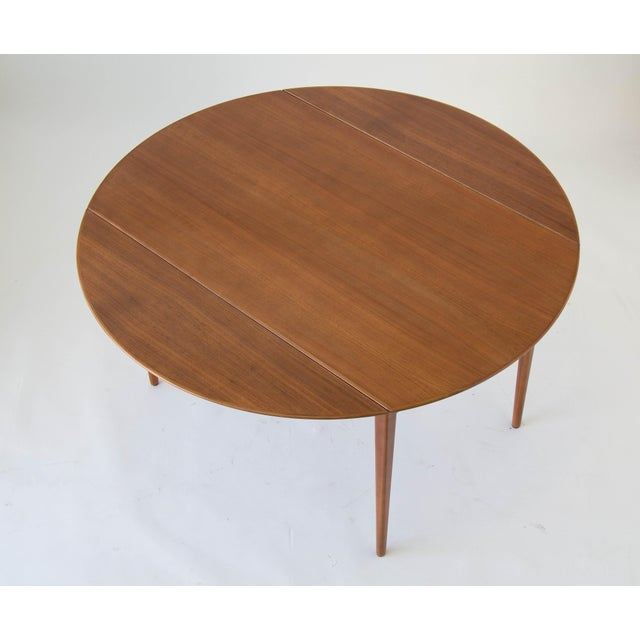 Drop-Leaf Dux Dining Table - Image 2 of 8