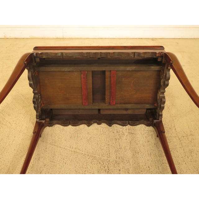 Kittinger Colonial Williamsburg Mahogany Tea Table - Image 8 of 11