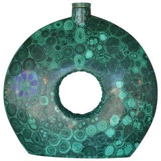 Malachite Vase For Sale