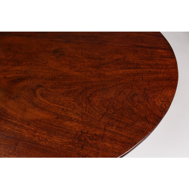 Romanian Walnut Round Side Table - Image 6 of 6
