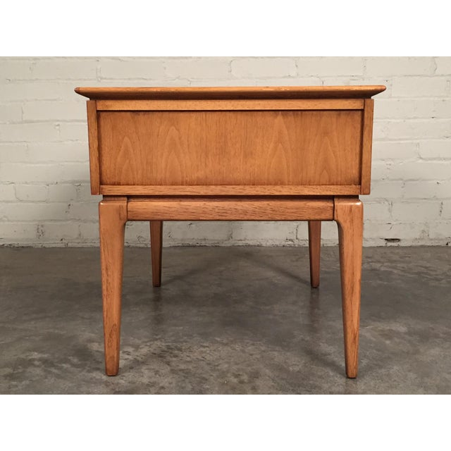 mid century modern side table by century furniture company chairish