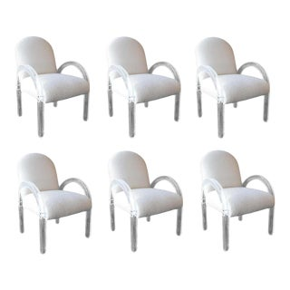 1970s Dining Chairs by Lion in Frost - Set of 6 For Sale