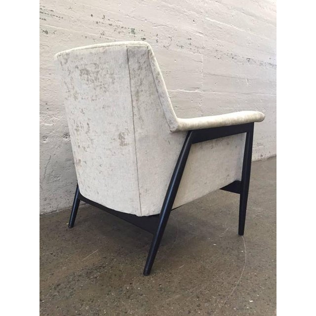 Pair of Danish Modern Lounge Chairs Ib Kofod Larsen - Image 4 of 7
