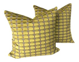 Image of Chartreuse Pillows