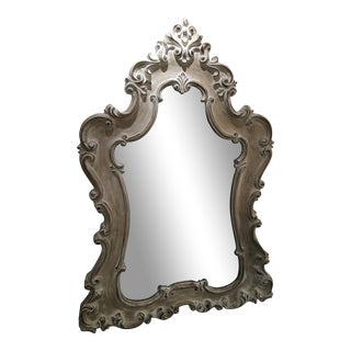 Guinevere Whitewash Finish Mirror