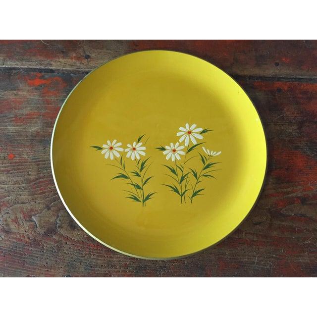 Hand Painted Yellow Daisy Tray - Image 2 of 6