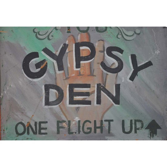 1970s Vintage Gypsy Den Fortune Teller Sign - Image 3 of 5