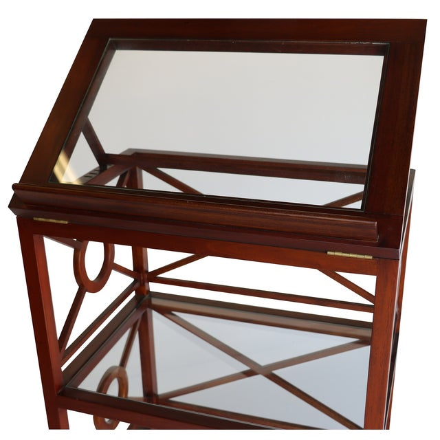 Vintage Library Stand For Sale - Image 4 of 5