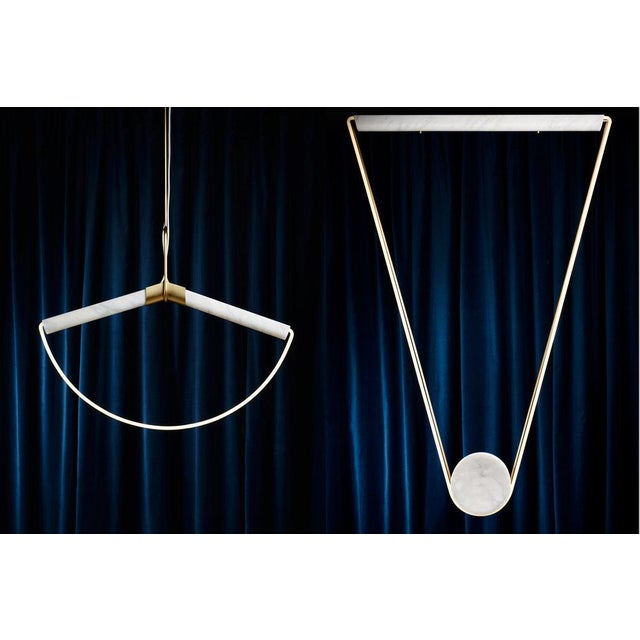 Not Yet Made - Made To Order Farrah Sit Ida Pendant Light For Sale - Image 5 of 7