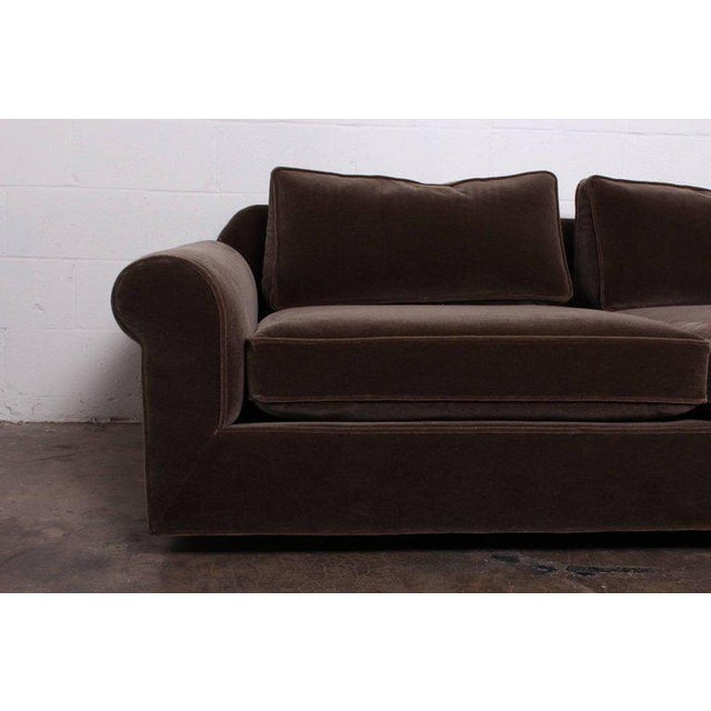 """Big Texan"" Sofa by Edward Wormley for Dunbar in Mohair - Image 5 of 10"