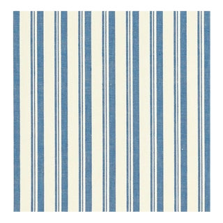 Miles Redd for Schumacher Capri Blue & White Fabric