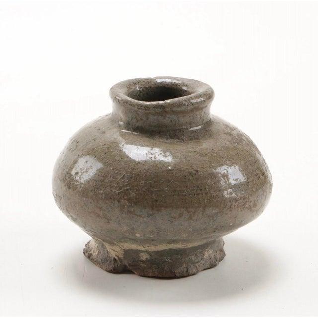 Antique Thai Stoneware Vases - Set of 3 For Sale In Columbus - Image 6 of 8