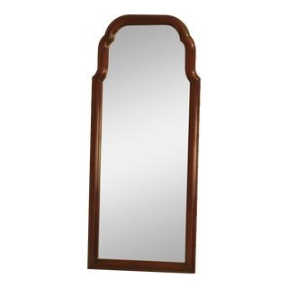 1990's Kittinger Richmond Hill Collection Tall Mahogany Mirror For Sale