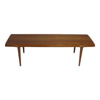 Coffee Table Crafted of Solid Teak For Sale