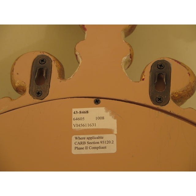 Ethan Allen Venetian Mirrored Wall Sconces - a Pair For Sale In Philadelphia - Image 6 of 11