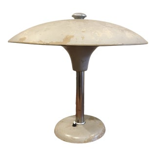 1920s German Bauhaus / Art Deco Desk Lamp by Max Schumacher For Sale
