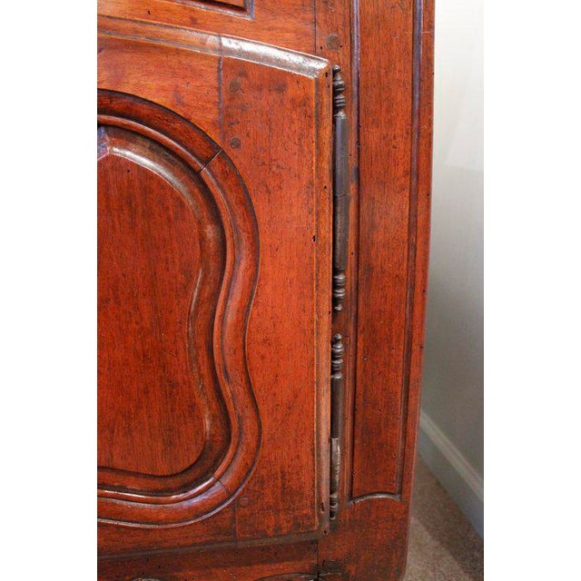 Wood French Provençal Fruitwood Buffet With Carved and Pierced Skirt For Sale - Image 7 of 10