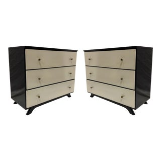 Mid-Century Modern Bachelor's Chests - a Pair
