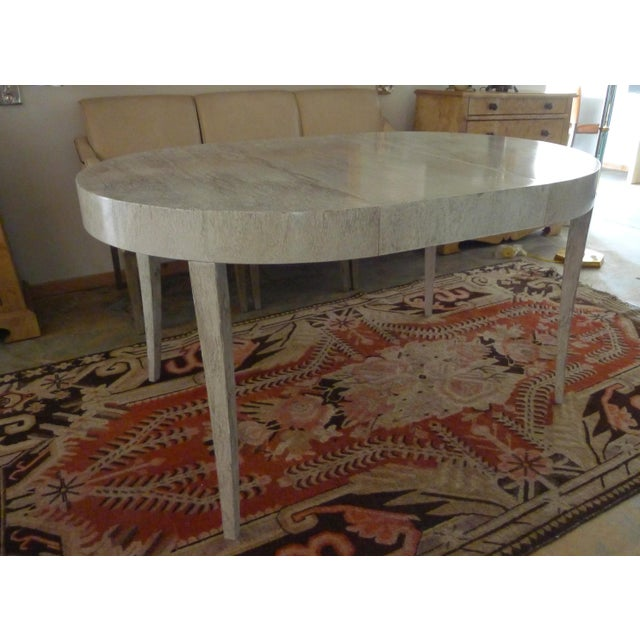 Restored Game or Dining Table in Drip-Glaze Finish - Image 10 of 11
