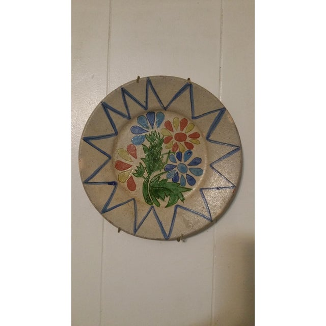 Vintage Decorative Portuguese Floral Plate - Image 7 of 7