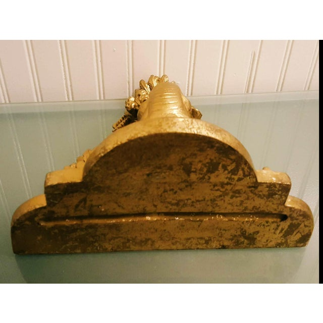Federal Style Giltwood Wall Shelf / Corbel For Sale - Image 4 of 7