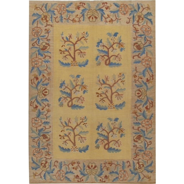 Antique Bessarabian Kilim Circa 1890 7' X 10' For Sale In New York - Image 6 of 6