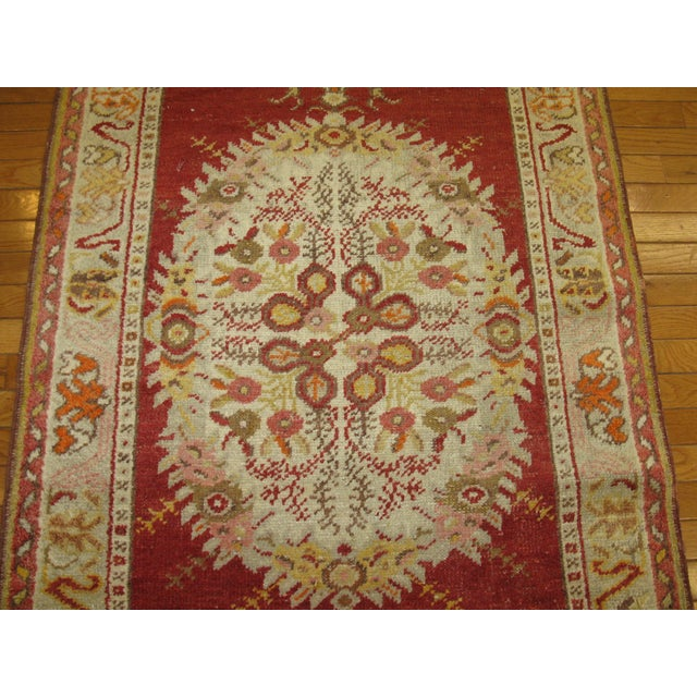 Islamic Vintage Turkish Anatolian Rug - 3′3″ × 5′3″ For Sale - Image 3 of 5