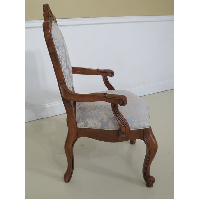 Ethan Allen Country French Dining Room Arm Chairs - Set of 6 | Chairish