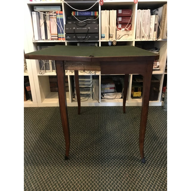 1700's Antique Inlaid Game Table For Sale In New York - Image 6 of 10