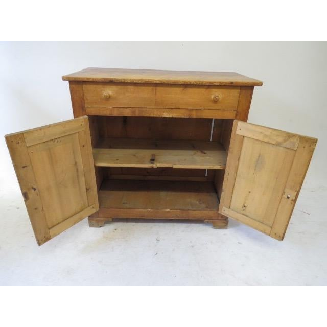 1920s Antique French Rustic Cabinet - Image 8 of 9