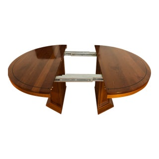 Stickley 21st Century Collection Solid Cherry Dining Table With 3 Leaves For Sale