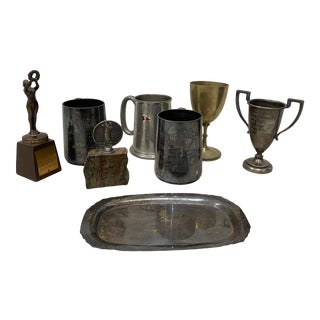 Eight Various 19th Century to 20th Century Awards For Sale