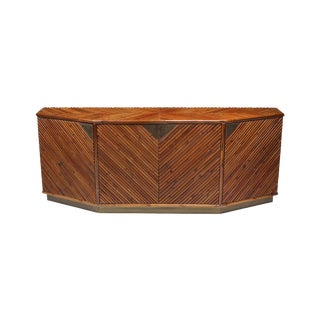 Bamboo Credenza by Vivai Del Sud For Sale