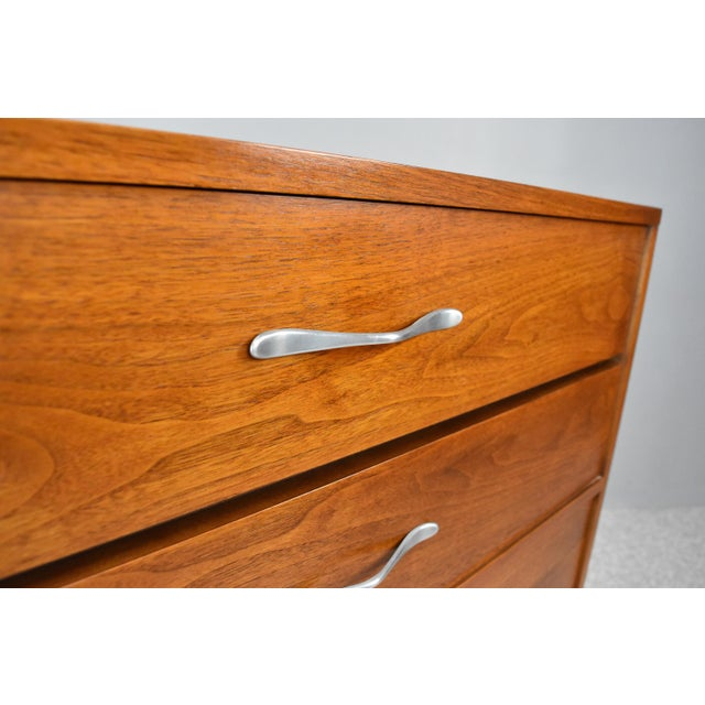 Mid-Century Modern Highboy Chest by Lane Acclaim For Sale In Orlando - Image 6 of 13