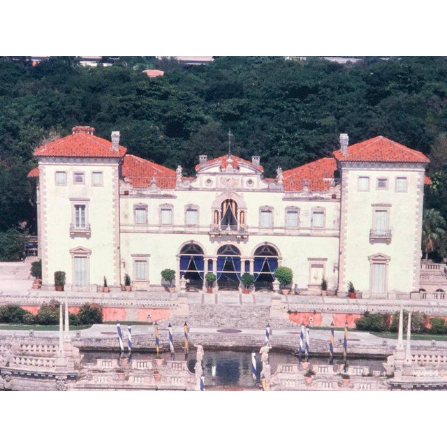 1980s Monumental Photographic Print of Villa Vizcaya, Deaccessioned From Vizcaya For Sale - Image 5 of 13