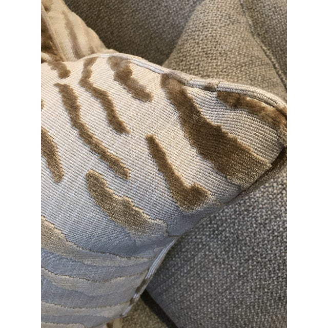 Beacon Hill Hollywood Regency Beacon Hill Tiger Pillows - a Pair For Sale - Image 4 of 6