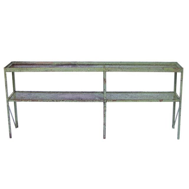 Long Narrow Industrial Mesh Console - Image 3 of 11